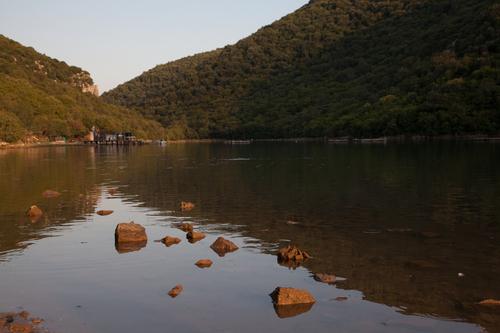 Limsky fjord, Croatia.