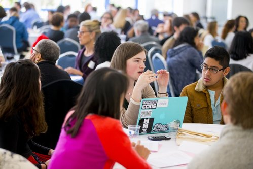 16-047 Connecticut College - Spring Coverage 2016: Kevin Zevallos at a CCSRE event