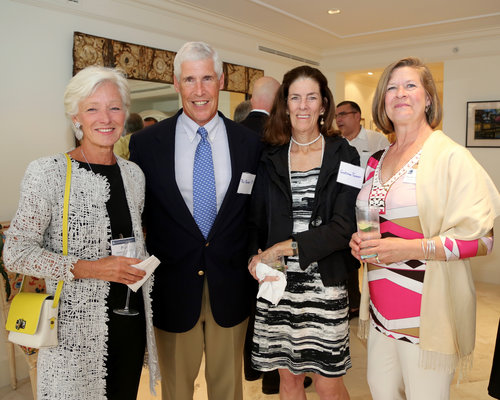 Building on Strength event: Palm Beach, FL. Pam Zilly with other