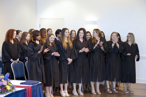 NEW LONDON, CT  Connecticut College Commencement 2017, Saturday events - Holleran Center Certificate Ceremony.