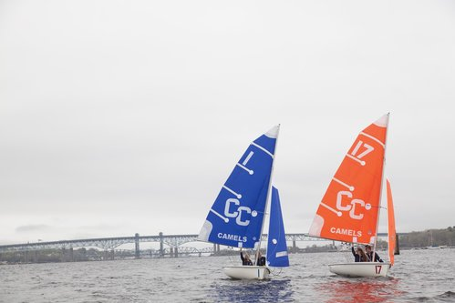Sailing Team with new sails