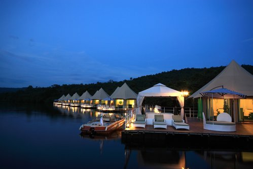 Outdoors from 4 Rivers Floating Eco-Lodge