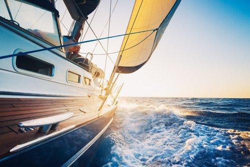 14441808 - sailing to the sunrise