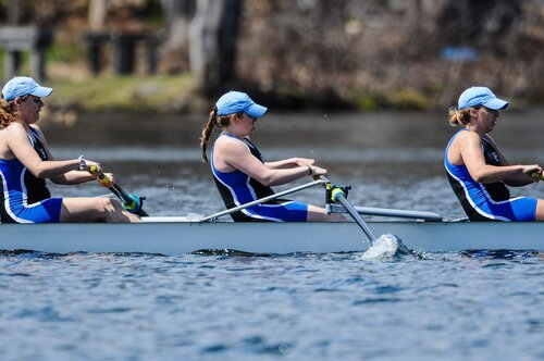 Acton Shots taken from Connecticut College Women's Rowing Spring Regatta, which took place at Lake Quinsigamond, (Worcester, MA) on Apr. 28, 2018.