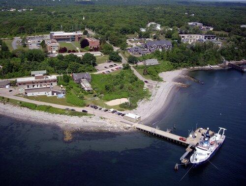 Bay campus aerials