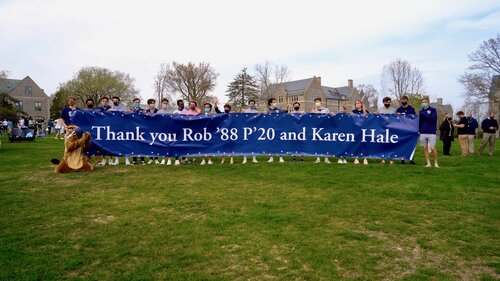 Rob and Karen Hale donate $30,000,000 to Connecticut College. 4/28/21